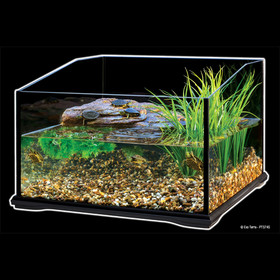 exo terra turtle terrarium terrarium f r im wasser lebende reptilien neu. Black Bedroom Furniture Sets. Home Design Ideas