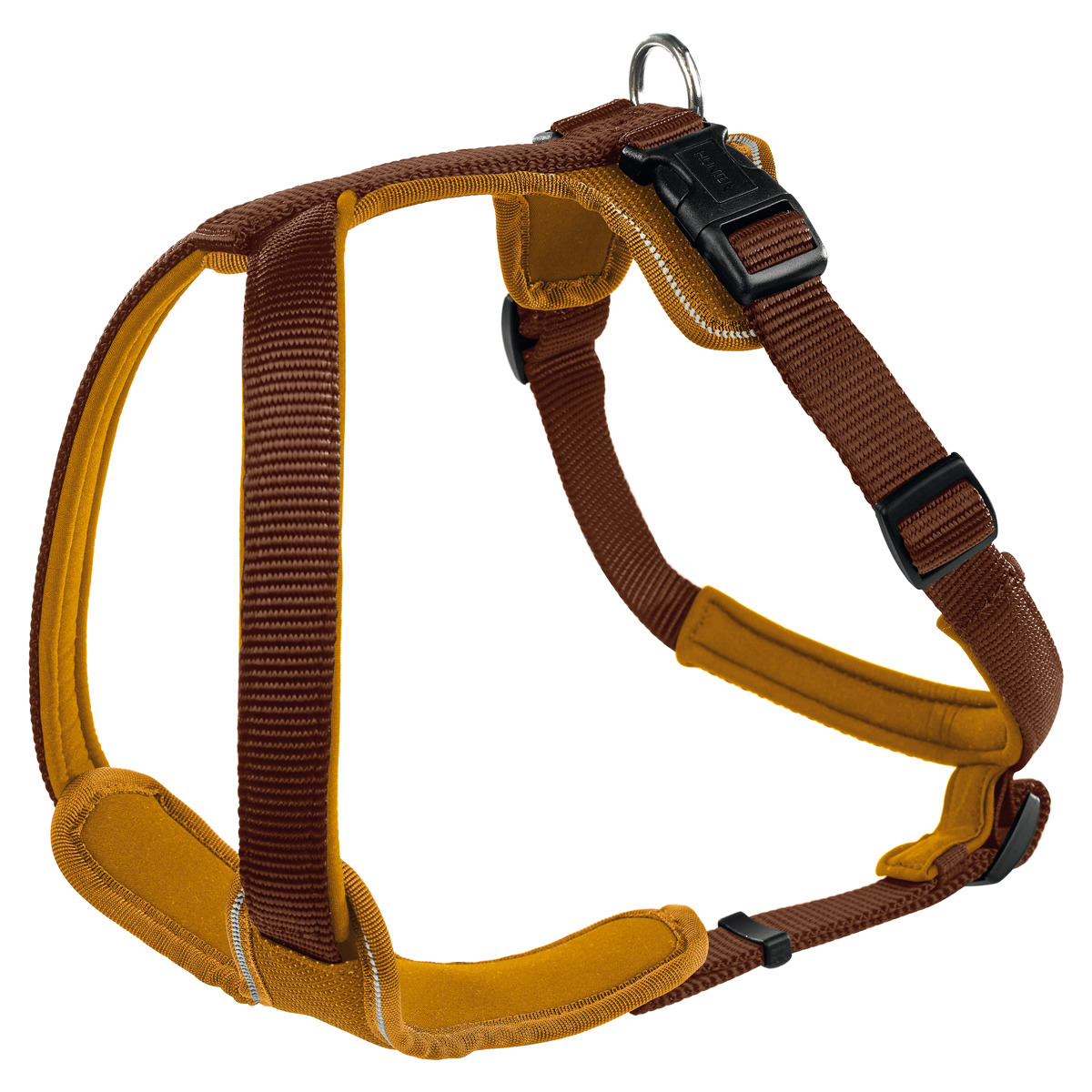 Hunter Geschirr Neopren brauncaramel ~ Geschirr Hunter