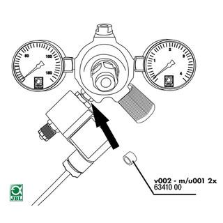 JBL Ersatzteil 2x Dichtung Anschluß v002 an u001, m001