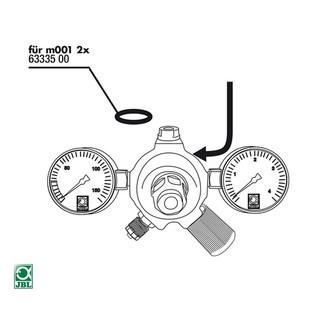 JBL Ersatzteil 2x Dichtung für ProFlora m001