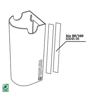 JBL Ersatzteil 2x Doppelseitiger Klebestreifen Thermomantel bio160