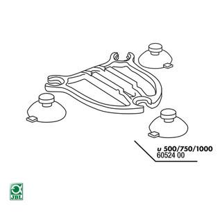JBL Ersatzteil 3x Sauger + Platte u500/750/1000