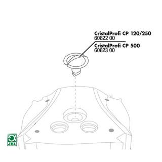 JBL Ersatzteil CP 500 Verschluss für Entlüftung + Dichtung
