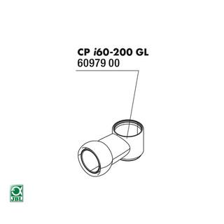 JBL Ersatzteil CP i_gl Wasserauslaufrohr