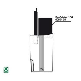 JBL Ersatzteil Filterschwamm L ProCristal 100