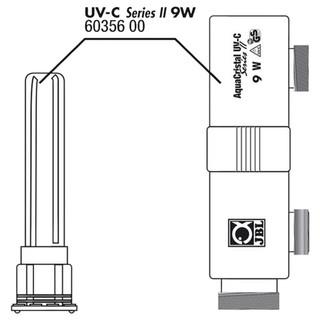 JBL Ersatzteil Gehäuse + Glas für UV-C 9 W