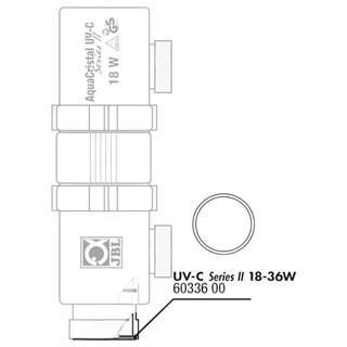 JBL Ersatzteil O-Ring zylindrisch für UV-C 18 / 36 W