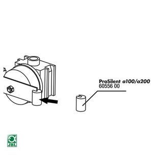 JBL Ersatzteil PS a100/200 Gummihalter Membrananker