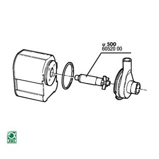 JBL Ersatzteil ProFlow u500 Rotor-Set