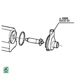 JBL Ersatzteil Rotorabdeckung ProFlow u1000