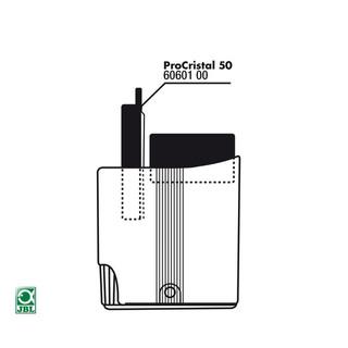 JBL Ersatzteil Vorfiltereinsatz für ProCristal 50