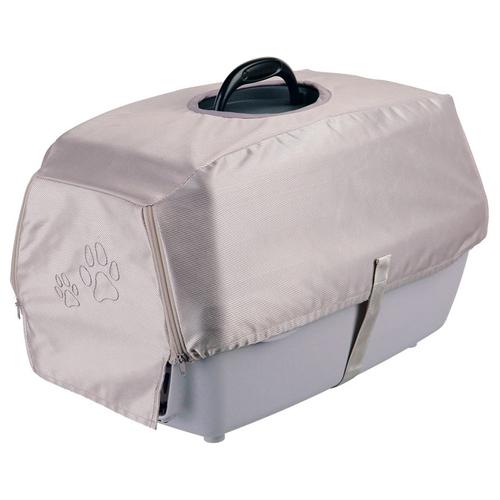 trixie abdeckung f r transportbox capri 1 silber f r hunde. Black Bedroom Furniture Sets. Home Design Ideas