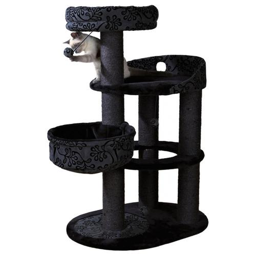 trixie kratzbaum filippo schwarz anthrazit. Black Bedroom Furniture Sets. Home Design Ideas